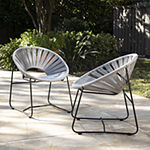 Southern Enterprises Rondly Collection 2-pc. Conversational Chair