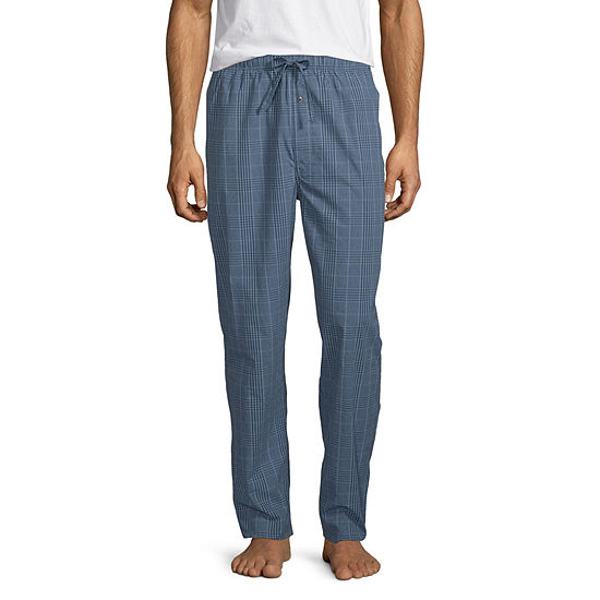 Stafford Men's Woven Straight Fit Pajama Pants