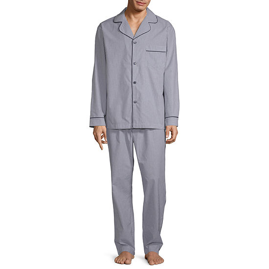 Stafford Mens 2-pc. Pant Pajama Set Big