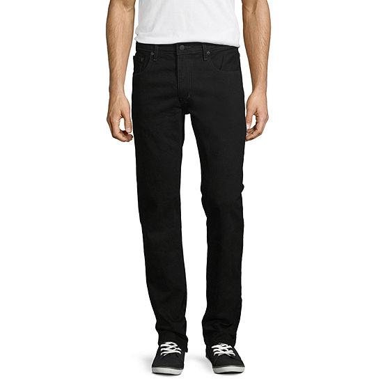 Arizona Flex Slim-Fit Straight-Leg Jeans