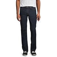 Deals on Arizona Flex Mens Straight Fit Straight Leg Jean