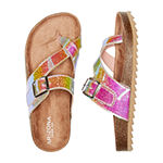 Arizona Big Kids Girls Nome Slide Sandals