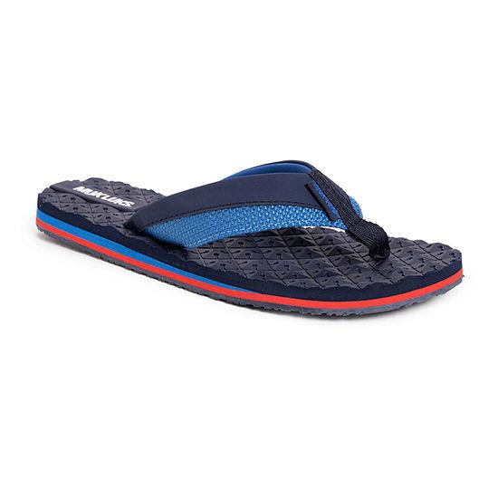 Muk Luks Chill Cooler Mens Flip-Flops