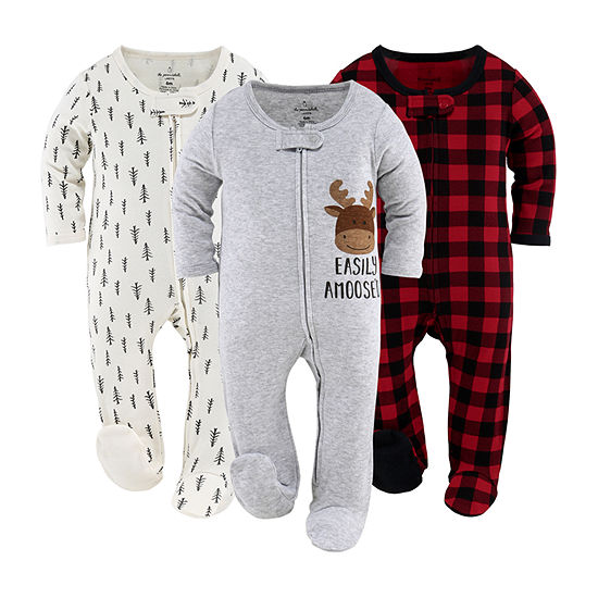 The Peanutshell Baby Unisex 3-pc. Sleep and Play