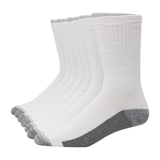 Hanes Ultimate X-Temp Mens 6 Pair +1 Bonus Crew Socks