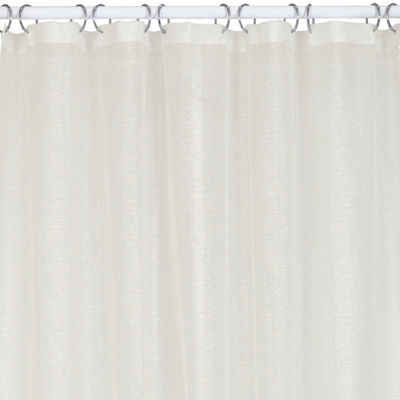 India Ink Shimmer Shower Curtain