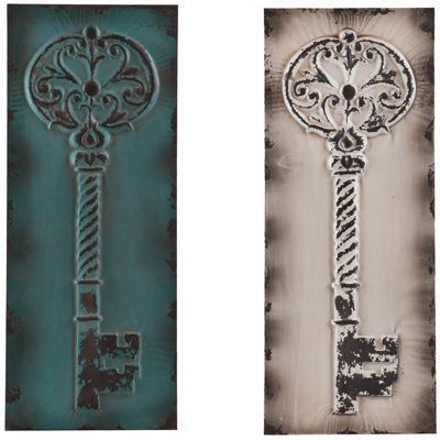 Set of 2 Latchkey Wall Decor