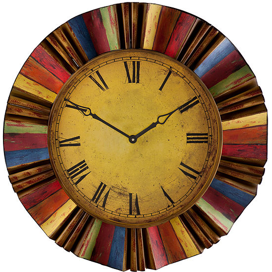 "Oversized 30.5"" Vibrant Wall Clock"