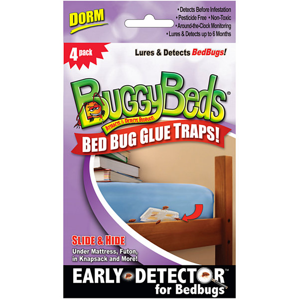 BuggyBeds® Bed Bug Glue Traps Dorm Pack