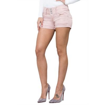 """Ymi 2 1/2"""" Denim Shorts-Juniors"""