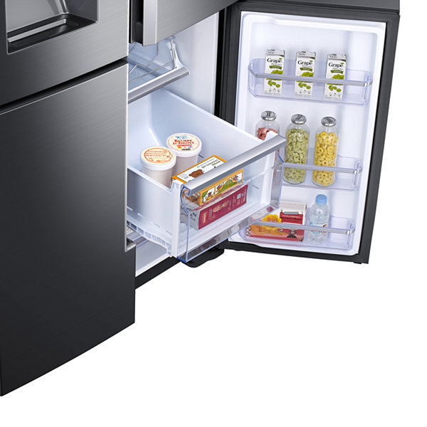 Samsung ENERGY STAR® 22 cu. ft. Counter Depth 4-Door Flex™ Refrigerator with Family Hub™