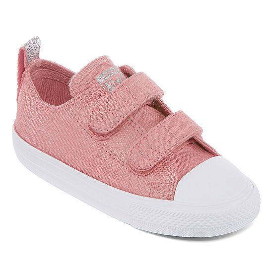 Converse Chuck Taylor All Star 2v Toddler Girls Sneakers Hook and Loop