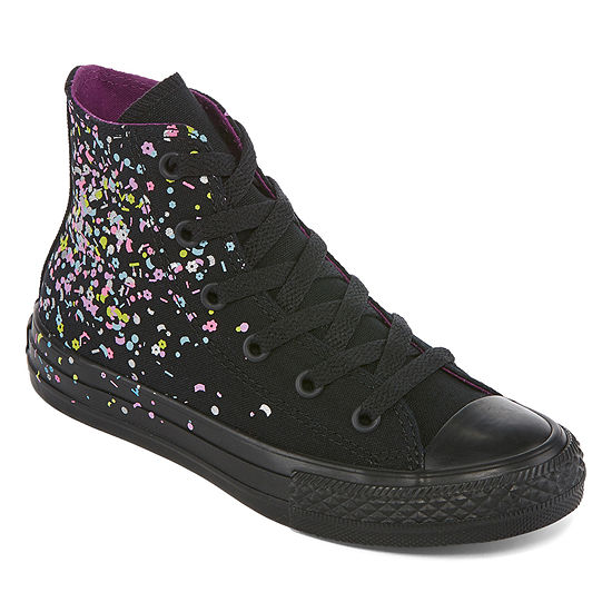 930b6b6f00 Converse Chuck Taylor All Star Confetti Hi Little Kid/Big Kid Girls  Sneakers Lace-up