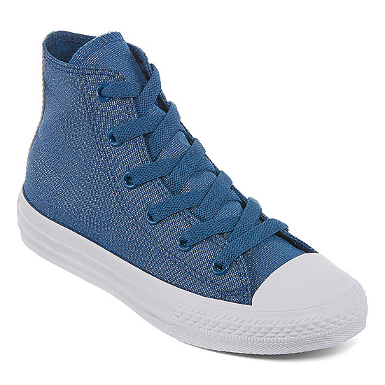 7f861431608c Converse Ctas Sparkle Hi Girls Sneakers JCPenney