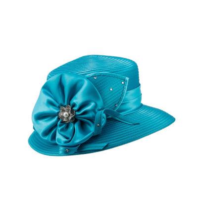 Giovanna Signature Women's Satin Flower Ribbon Hat
