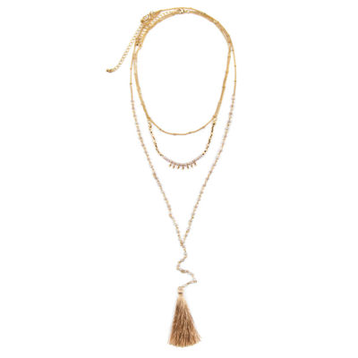 Arizona Womens 28 Inch Link Necklace