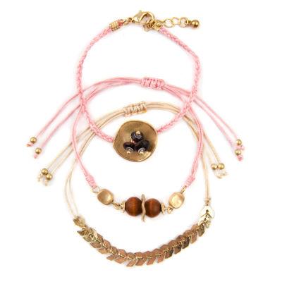 Arizona Womens 3-pc. Bracelet Set