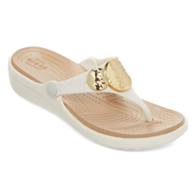 Crocs Womens Sanrah Flip-Flops