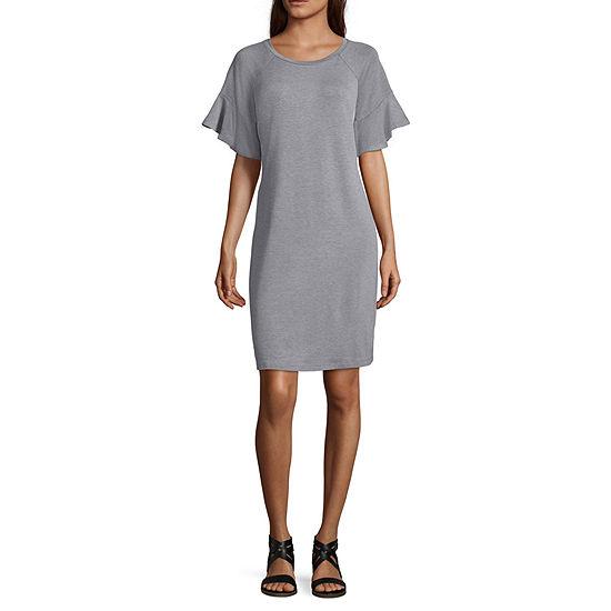 a.n.a Short Sleeve T-Shirt Dresses