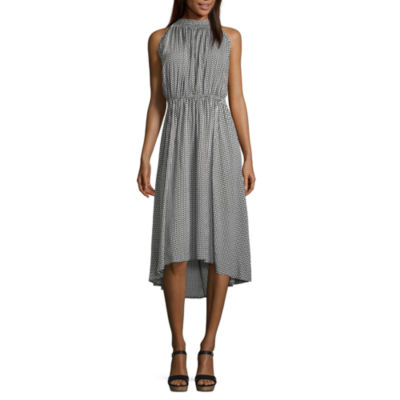 a.n.a. High Neck Maxi Dress