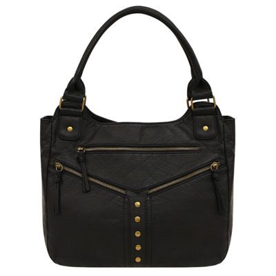 St. John's Bay Zippered Double Shoulder Bag