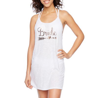 Bridal Party Graphic Swimsuit Cover-Up