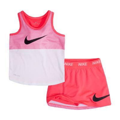 Nike 2-pack Skort Set Preschool Girls