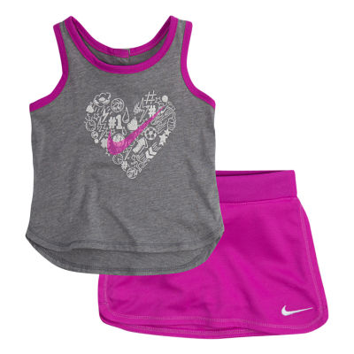 Nike 2-pack Skort Set Preschool Girls