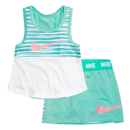Nike 2-pc. Skort Set Preschool Girls