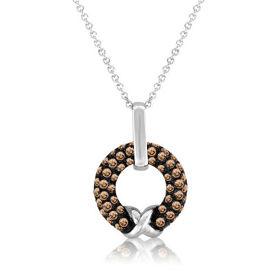 Grand Sample Sale™ by Le Vian® Chocolatier® Chocolate Diamonds®  Pendant in 14k Vanilla Gold®