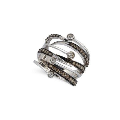 Grand Sample Sale™ by Le Vian® Chocolatier® Chocolate & Vanilla Diamonds™ Ring in 14k Vanilla Gold®