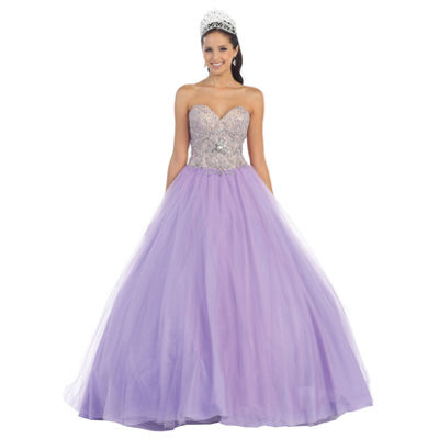 Strapless Sweetheart Ball Gown - Juniors