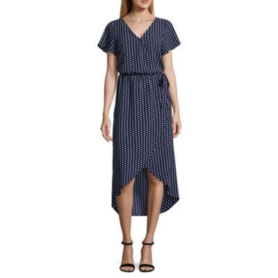 Alyx Short Sleeve Wrap Dress