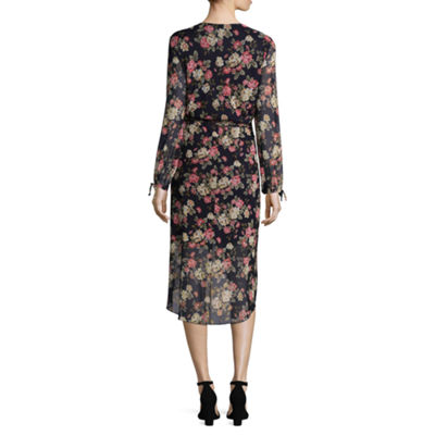 Alyx Long Sleeve Floral Maxi Dress