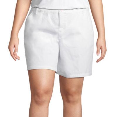St. John's Bay® Chino Short - Plus