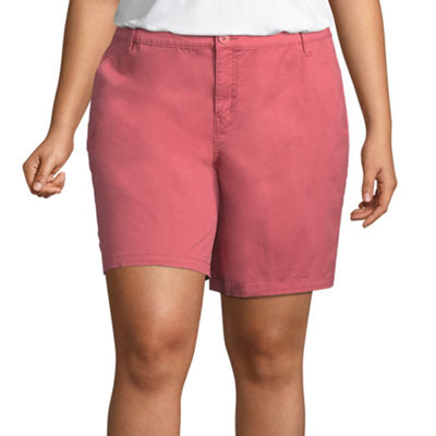 St. John's Bay® Chino Short - Plus