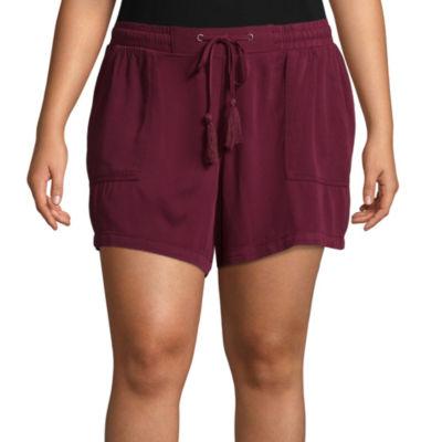 Boutique + Soft Shorts - Plus
