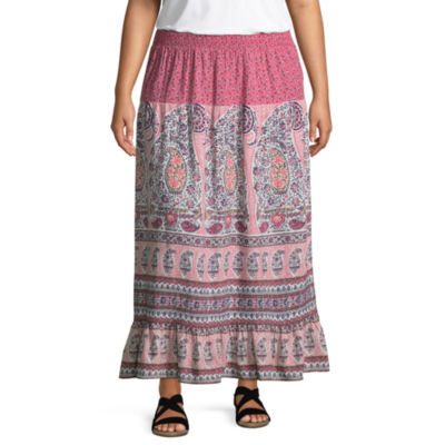 Liz Claiborne Maxi Skirt- Plus