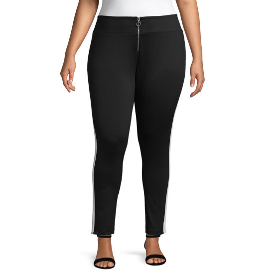 Best of Project Runway All Stars Racer Stripe Pants - Plus