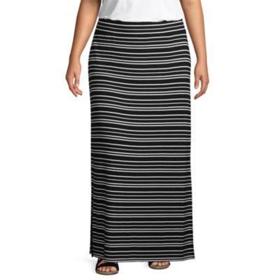 a.n.a Knit Maxi Skirt - Plus