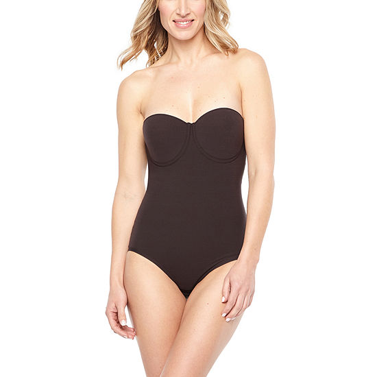 Ambrielle Wonderful Edge® Strapless Convertible Firm Control Body Shaper - 1294003