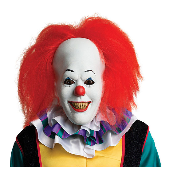 Stephen Kings It Pennywise Clown Adult Mask