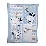 Peanuts My Little Snoopy 4-pc. Snoopy Crib Bedding Set