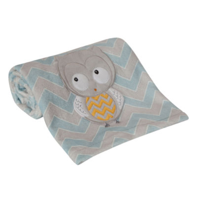 Happi By Dena Night Owl Animal Blanket - Boys