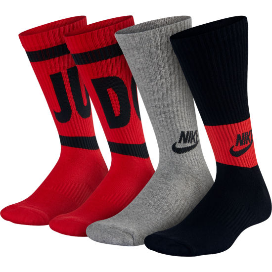 Nike Performance Cushioned Graphic Crew 3 Pack - Boys