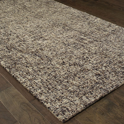 Covington Home Farah Stone Hand Tufted Rectangular Indoor Accent Rug