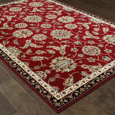 Covington Home Kinsley Rouge Rectangular Rugs