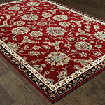 Covington Home Kinsley Rouge Rectangular Indoor Rugs