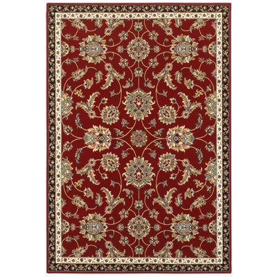 Covington Home Kinsley Rouge Rectangular Indoor Accent Rug