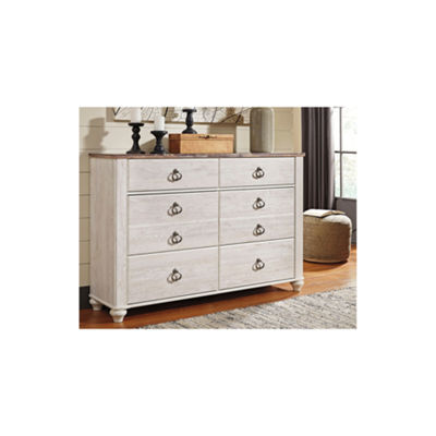 Signature Design by Ashley® Smithfield 6 Drawer Dresser